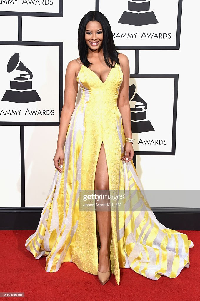 TV personality Vanessa Simmons attends The 58th GRAMMY Awards at Staples Center on February 15 2016 in Los Angeles California