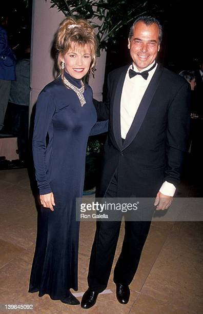 Personality Vanna White and husband George Santopietro attending 'Carousel of Hope Ball Benefit' on October 28 1994 at the Beverly Hilton Hotel in...