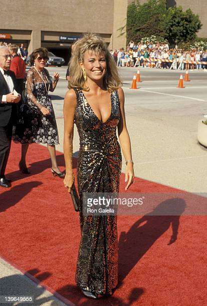 Personality Vanna White attending 38th Annual Primetime Emmy Awards on September 21 1986 at the Pasadena Civic Auditorium in Pasadena California