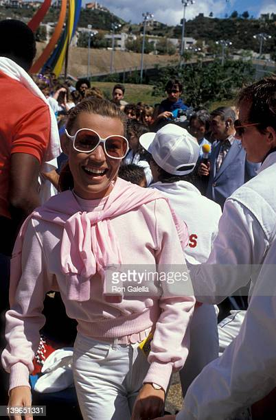 Personality Vanna White attending 'Battle Of The Network Stars' on April 1 1984 at Pepperdine University in Malibu California