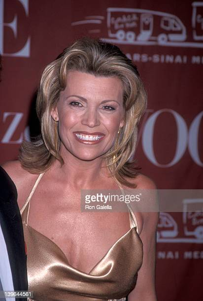 Personality Vanna White attending 'CedarsSinai Valentine's Ball Honoring Larry King' on February 13 2002 at the Beverly Hills Hotel in Beverly Hills...