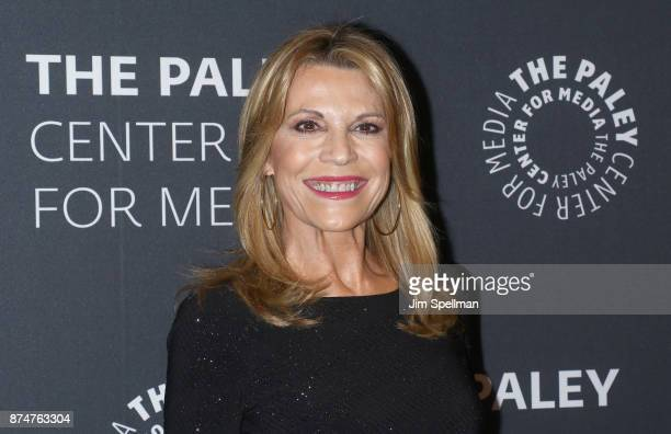 TV personality Vanna White attends The Wheel of Fortune 35 Years as America's Game hosted by The Paley Center For Media at The Paley Center for Media...