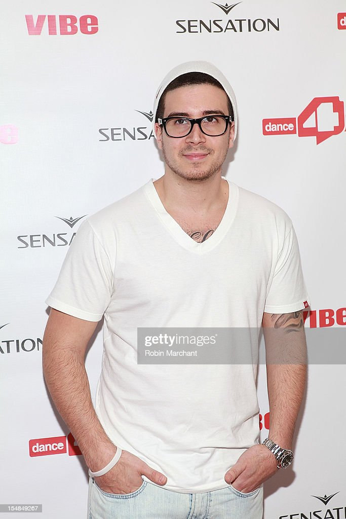 TV personality Vinny Guadagnino attends dance4life Cocktail Party at Milk Studios on October 27, 2012 in New York City.