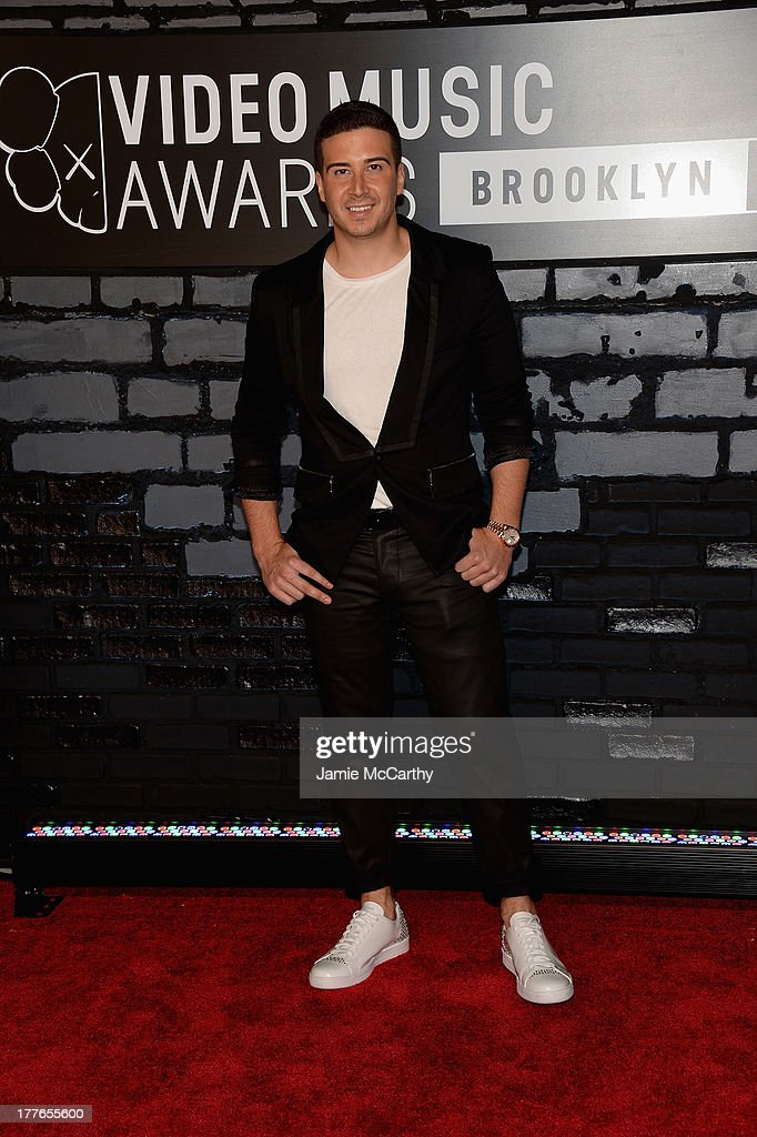 TV personality Vinny Guadagnino attends the 2013 MTV Video Music Awards at the Barclays Center on August 25, 2013 in the Brooklyn borough of New York City.