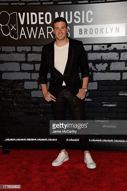 TV personality Vinny Guadagnino attends the 2013 MTV Video Music Awards at the Barclays Center on August 25 2013 in the Brooklyn borough of New York...