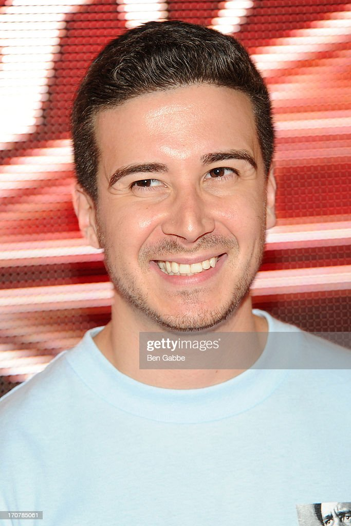TV personality Vinny Guadagnino attends The 40/40 Club 10 Year Anniversary Party at 40 / 40 Club on June 17, 2013 in New York City.