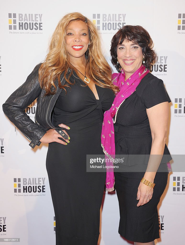 TV Personality Wendy Williams and Bailey House CEO Regina Quattrochi attend the Bailey House 30th Anniversary Gala at Pier 60 on March 28, 2013 in New York City.