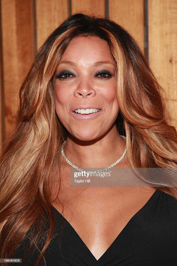 TV personality Wendy Williams attends a PETA Fundraiser to promote her upcoming 'I'd Rather Go Naked Than Wear Fur' advertisement at The Standard Hotel on November 15, 2012 in New York City.