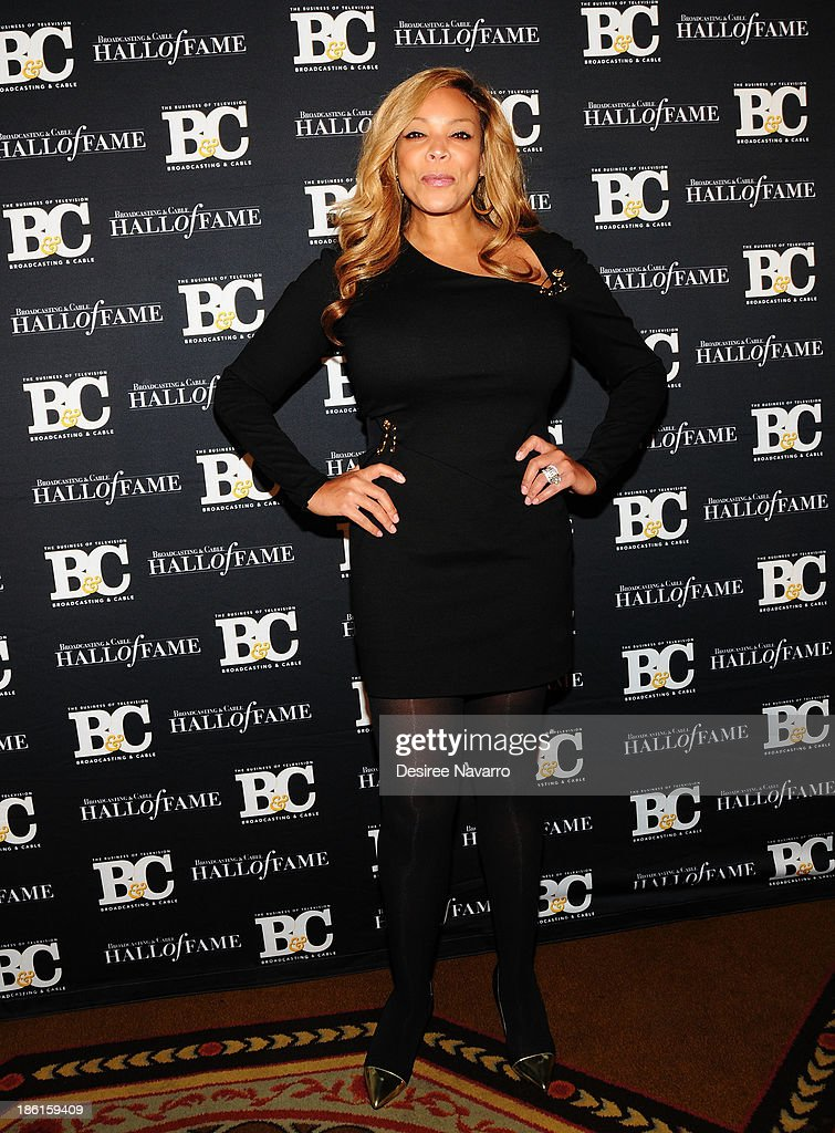 TV personality Wendy Williams attends the Broadcasting And Cable 23rd Annual Hall Of Fame Awards dinner at The Waldorf Astoria on October 28, 2013 in New York City.