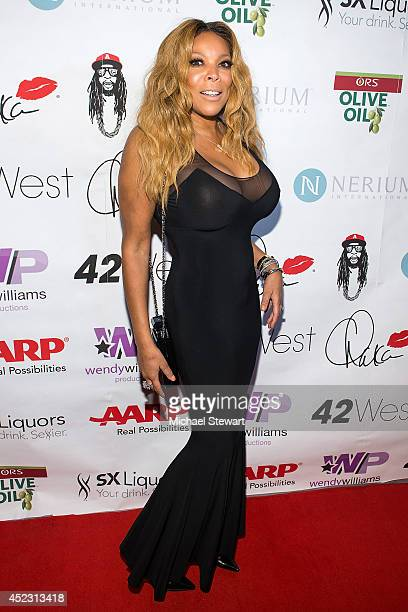 TV personality Wendy Williams attends Wendy Williams' 50th Birthday Party at 42West on July 17 2014 in New York City