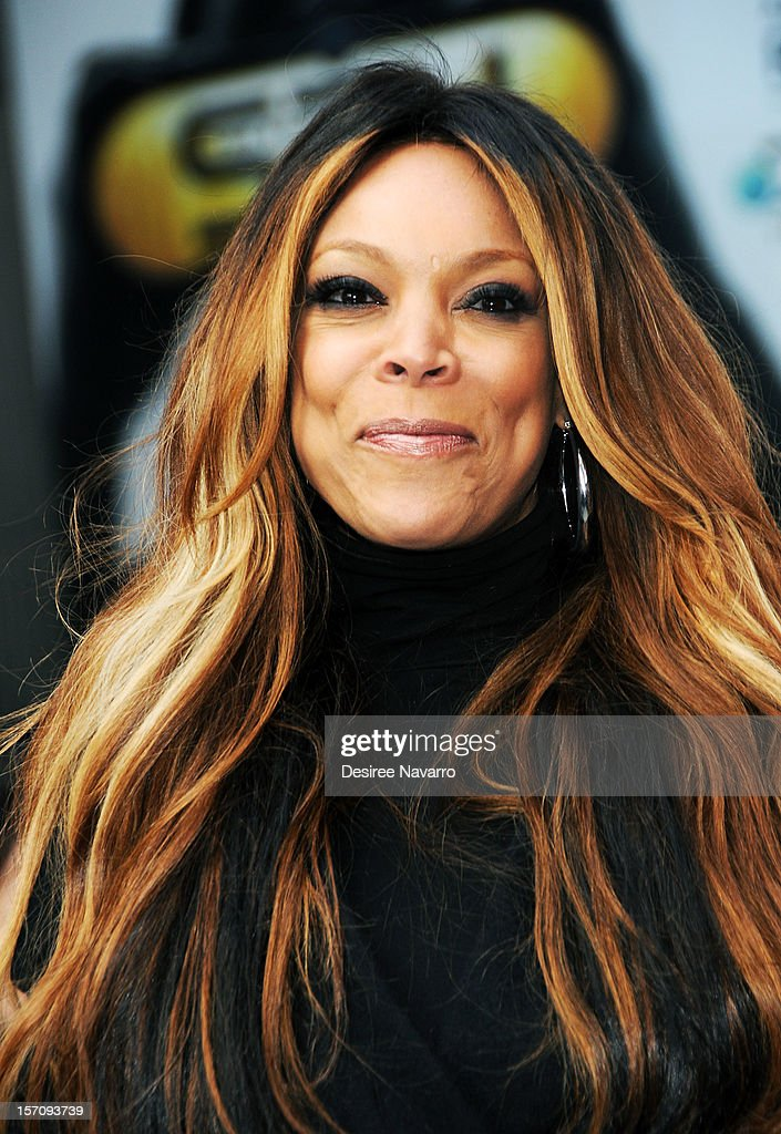 TV personality <a gi-track='captionPersonalityLinkClicked' href=/galleries/search?phrase=Wendy+Williams&family=editorial&specificpeople=4134023 ng-click='$event.stopPropagation()'>Wendy Williams</a> attends <a gi-track='captionPersonalityLinkClicked' href=/galleries/search?phrase=Wendy+Williams&family=editorial&specificpeople=4134023 ng-click='$event.stopPropagation()'>Wendy Williams</a> 'I'd Rather Go Naked Than Wear Fur' Winter PETA Campaign Launch at Times Square on November 28, 2012 in New York City.