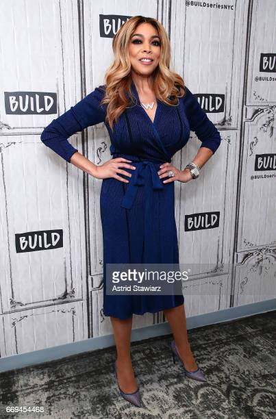 TV personality Wendy Williams discusses her daytime talk show at Build Studio on April 17 2017 in New York City