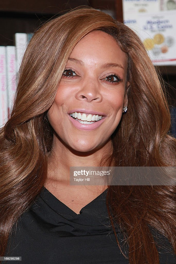TV personality <a gi-track='captionPersonalityLinkClicked' href=/galleries/search?phrase=Wendy+Williams&family=editorial&specificpeople=4134023 ng-click='$event.stopPropagation()'>Wendy Williams</a> signs Copies Of Her Book 'Ask Wendy' at Barnes & Noble Tribeca on May 7, 2013 in New York City.