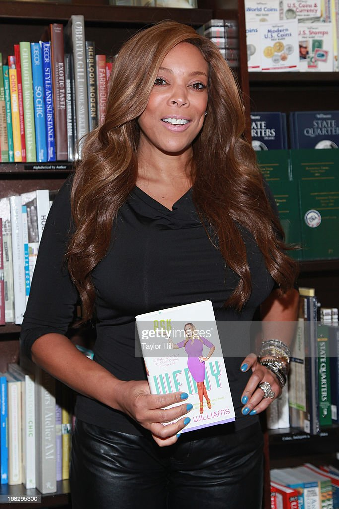TV personality Wendy Williams signs Copies Of Her Book 'Ask Wendy' at Barnes & Noble Tribeca on May 7, 2013 in New York City.