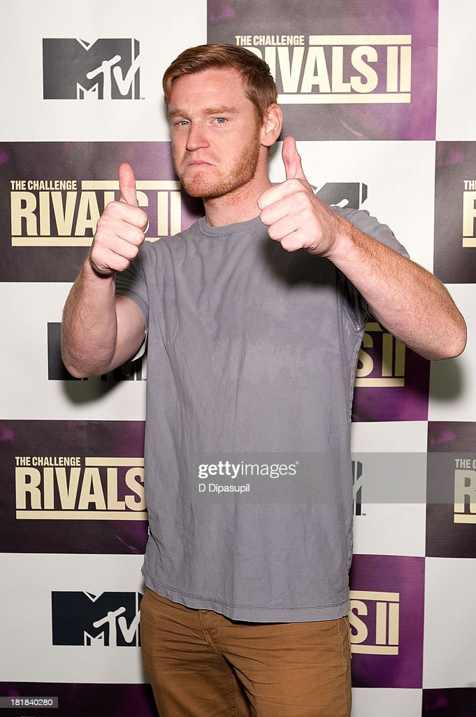 TV personality Wes Bergmann attends MTV's 'The Challenge: Rivals II' Final Episode and Reunion Party at Chelsea Studio on September 25, 2013 in New York City.