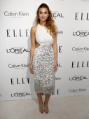TV personality Whitney Port arrives at ELLE's 19th Annual Women In Hollywood Celebration at the Four Seasons Hotel on October 15 2012 in Beverly...