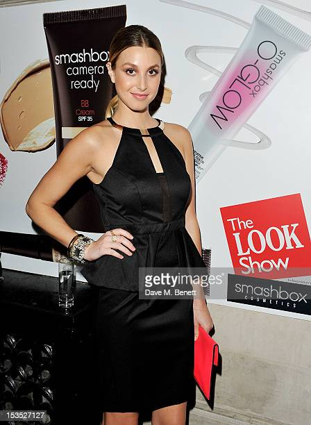 TV Personality Whitney Port arrives at The LOOK Show in association with Smashbox Cosmetics at the Royal Courts of Justice Strand on October 6 2012...