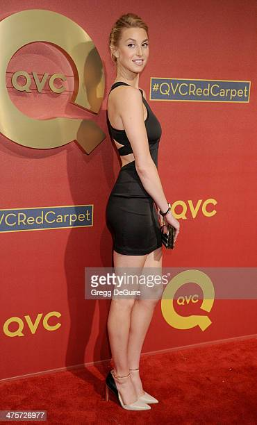 TV personality Whitney Port arrives at the QVC 5th Annual Red Carpet Style event at The Four Seasons Hotel on February 28 2014 in Beverly Hills...