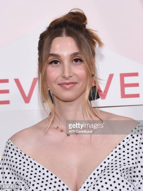 TV personality Whitney Port attends the first annual #REVOLVEawards at the Dream Hotel in Hollywood on November 2 2017 / AFP PHOTO / CHRIS DELMAS