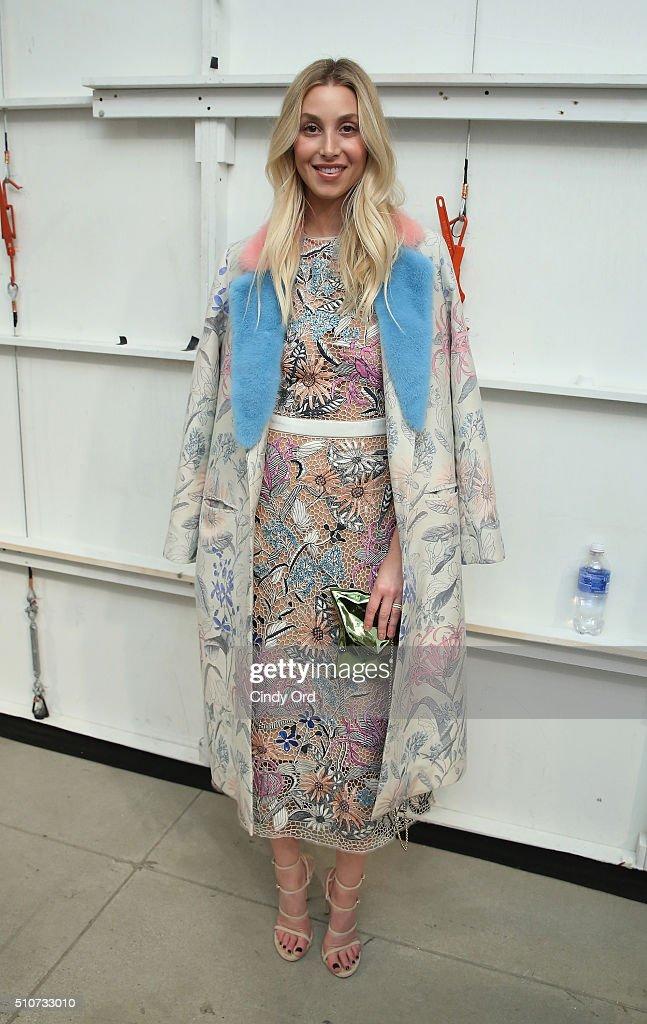 Georgine - Front Row - Fall 2016 New York Fashion Week: The Shows