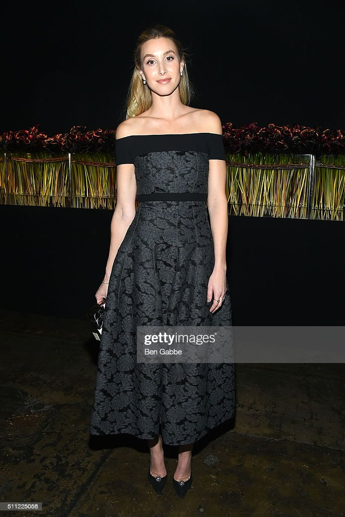 TV personality Whitney Port attends the J. Mendel fashion show during Fall 2016 New York Fashion Week at Cedar Lake on February 18, 2016 in New York City.