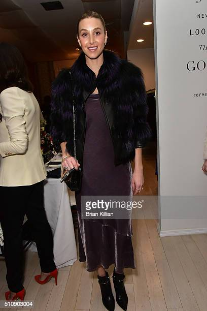 TV personality Whitney Port attends the Of Mercer Women Of Substance Underground Supper Club on February 17 2016 in New York City