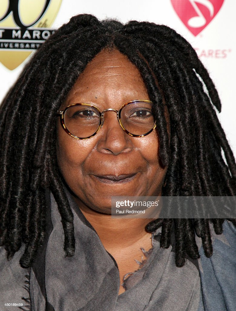 TV personality <a gi-track='captionPersonalityLinkClicked' href=/galleries/search?phrase=Whoopi+Goldberg&family=editorial&specificpeople=202463 ng-click='$event.stopPropagation()'>Whoopi Goldberg</a> attends Sunset Marquis Hotel 50th Anniversary Birthday Bash at Sunset Marquis Hotel & Villas on November 16, 2013 in West Hollywood, California.