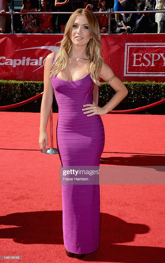 TV personality Willa Ford arrives at the 2012 ESPY Awards at Nokia Theatre L.A. Live on July 11, 2012 in Los Angeles, California.