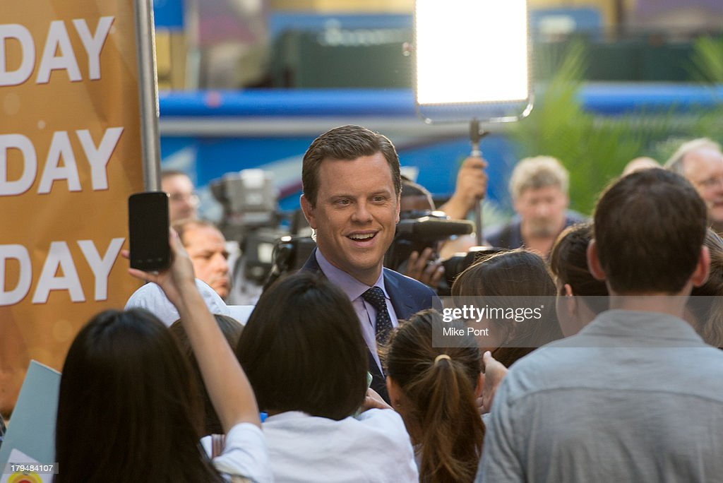 TV Personality Willie Geist appears on NBC's 'Today' at NBC's TODAY Show on September 4, 2013 in New York City.