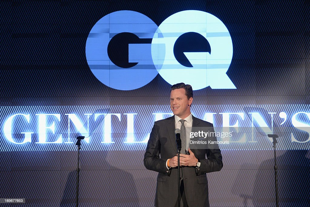 TV Personality Willie Geist speaks onstage at the 2013 GQ Gentlemen's Ball presented by BMW i, Movado, and Nautica at IAC Building on October 23, 2013 in New York City.