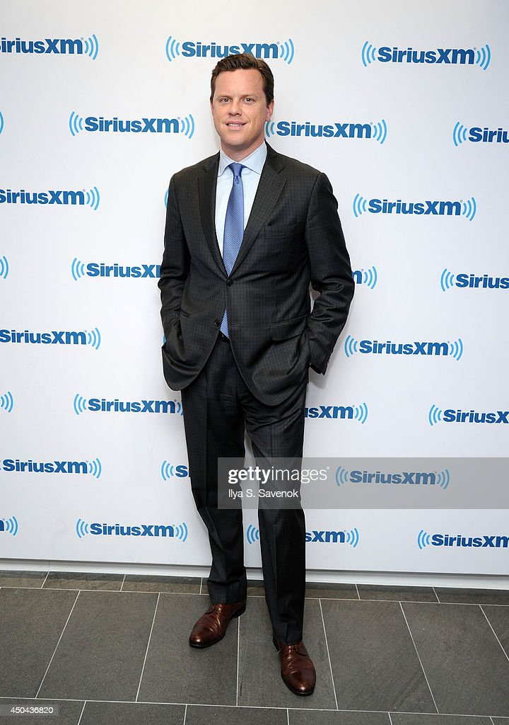 TV personality Willie Geist visits the SiriusXM Studios on June 11, 2014 in New York City.