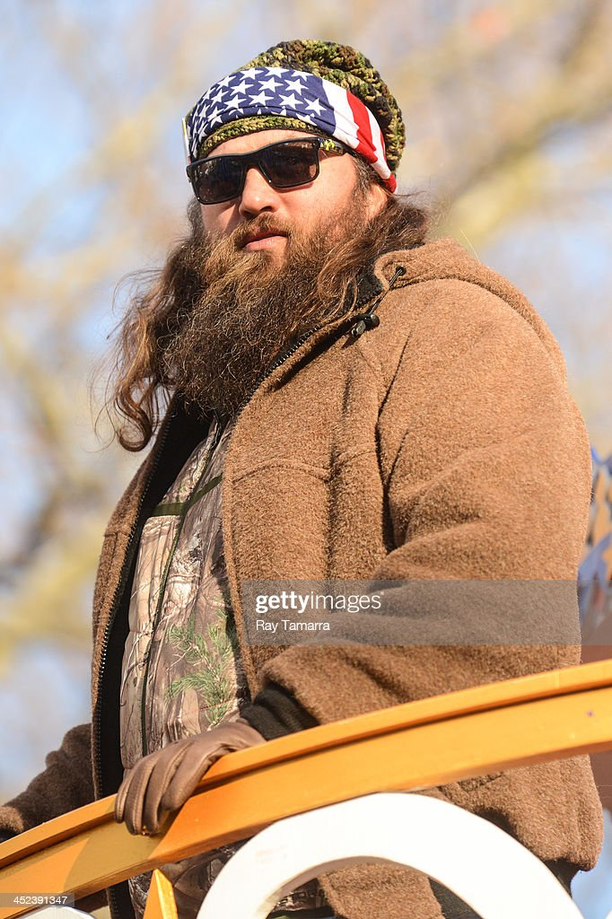 TV personality WIllie Robertson attends the 87th Annual Macy's Thanksgiving Day Parade on November 28, 2013 in New York City.