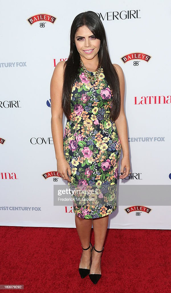 TV Personality <a gi-track='captionPersonalityLinkClicked' href=/galleries/search?phrase=Yarel+Ramos&family=editorial&specificpeople=6123533 ng-click='$event.stopPropagation()'>Yarel Ramos</a> attends Latina Magazine's 'Hollywood Hot List' Party at The Redbury Hotel on October 3, 2013 in Hollywood, California.