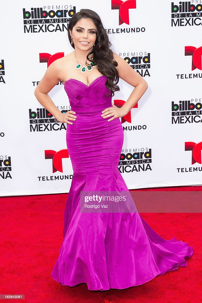 TV personality Yarel Ramos attends the 2013 Billboard Mexican Music Awards arrivals at Dolby Theatre on October 9, 2013 in Hollywood, California.