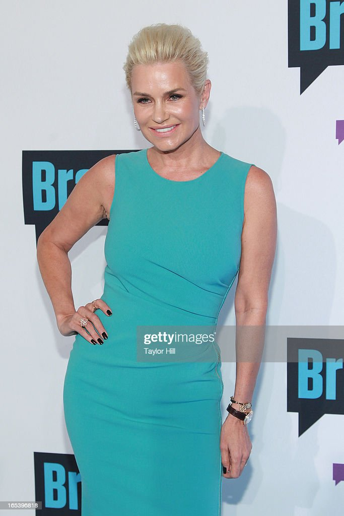 TV personality Yolanda H. Foster of 'The Real Housewives of Beverly Hills' attends the 2013 Bravo Upfront at Pillars 37 Studios on April 3, 2013 in New York City.