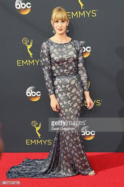 Personality Zackary Drucker arrives at the 68th Annual Primetime Emmy Awards at the Microsoft Theater on September 18 2016 in Los Angeles California