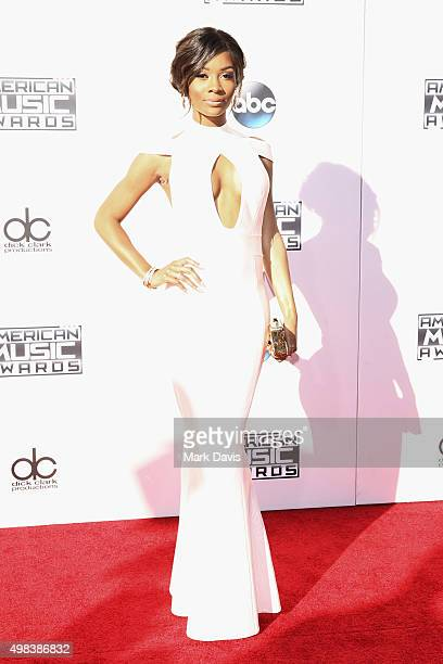 TV personality Zuri Hall attends the 2015 American Music Awards at Microsoft Theater on November 22 2015 in Los Angeles California