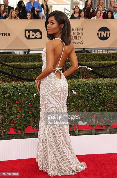 TV personality Zuri Hall attends the 22nd Annual Screen Actors Guild Awards at The Shrine Auditorium on January 30 2016 in Los Angeles California