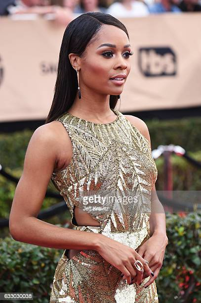 TV personality Zuri Hall attends the 23rd Annual Screen Actors Guild Awards at The Shrine Expo Hall on January 29 2017 in Los Angeles California