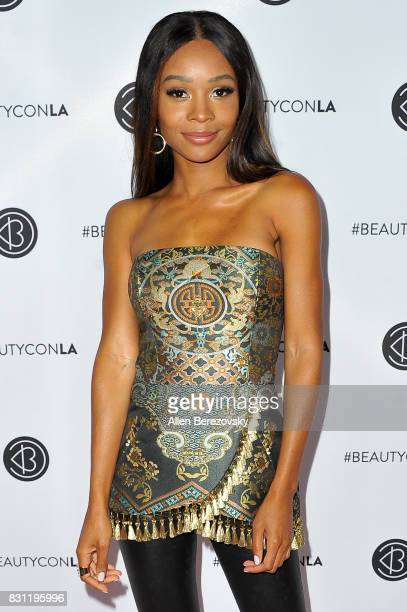 TV personality Zuri Hall attends the 5th Annual Beautycon Festival Los Angeles at Los Angeles Convention Center on August 13 2017 in Los Angeles...
