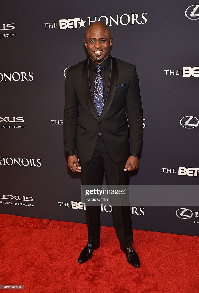 TV personality/actor <a gi-track='captionPersonalityLinkClicked' href=/galleries/search?phrase=Wayne+Brady+-+Actor&family=editorial&specificpeople=217495 ng-click='$event.stopPropagation()'>Wayne Brady</a> attend 'The BET Honors' 2015 at Warner Theatre on January 24, 2015 in Washington, DC.