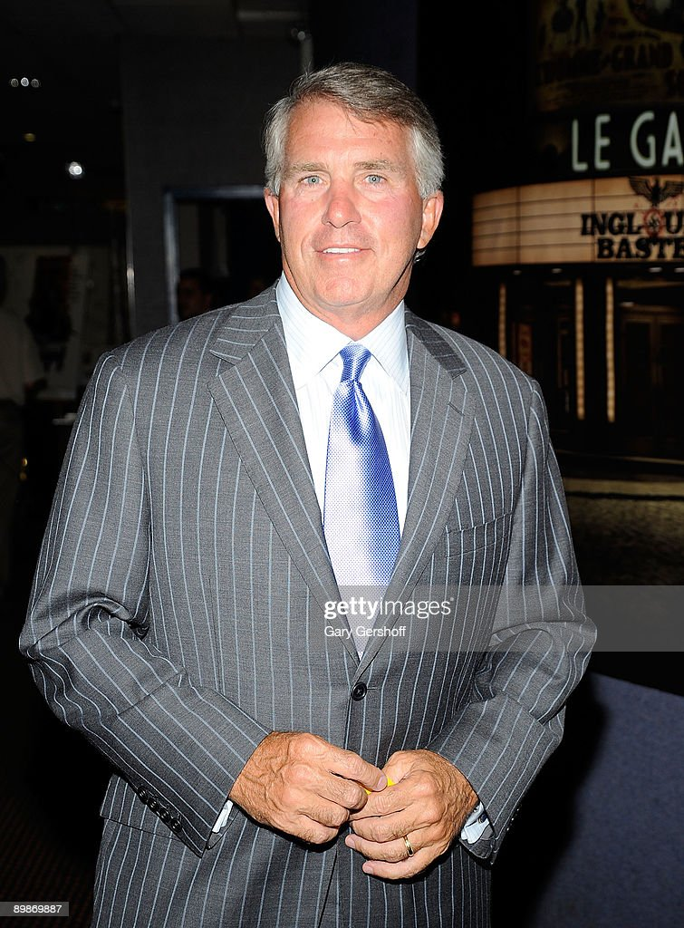 V personality/author Jack Ford attends a screening of 'Inglorious Basterds' at Cinema 2 on August 18 2009 in New York City