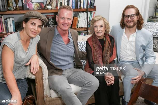 TV personality/author Jillian Michaels PETA Senior Vice President Dan Mathews actor Cloris Leachman and screenwriter Bryan Fuller attend the PETA...