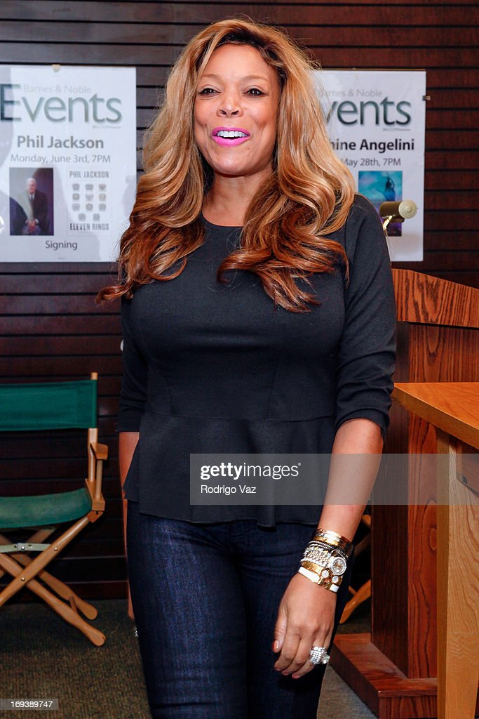 TV personality/author <a gi-track='captionPersonalityLinkClicked' href=/galleries/search?phrase=Wendy+Williams&family=editorial&specificpeople=4134023 ng-click='$event.stopPropagation()'>Wendy Williams</a> attends book signing for 'Ask Wendy' at Barnes & Noble bookstore at The Grove on May 23, 2013 in Los Angeles, California.