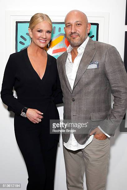 TV personality/Best Buddies Global Ambassador Nancy O'Dell and De Re Gallery owner Steph Sebbag attend Best Buddies 'The Art of Friendship' Benefit...