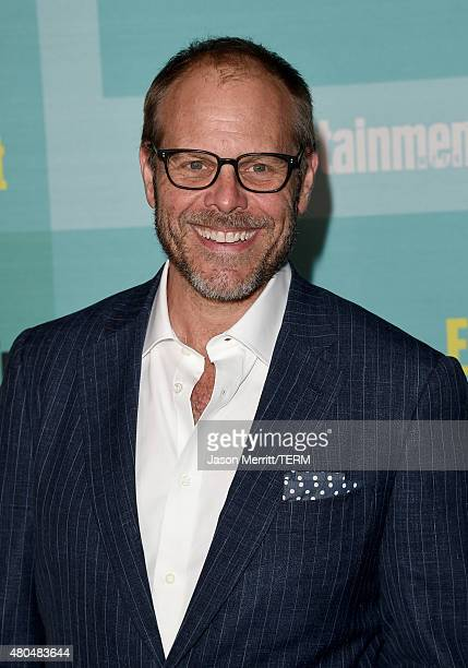 TV personality/celebrity chef Alton Brown attends Entertainment Weekly's ComicCon 2015 Party sponsored by HBO Honda Bud Light Lime and Bud Light...