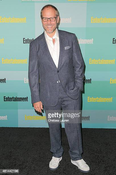 TV personality/chef Alton Brown arrives at the Entertainment Weekly celebration at Float at Hard Rock Hotel San Diego on July 11 2015 in San Diego...