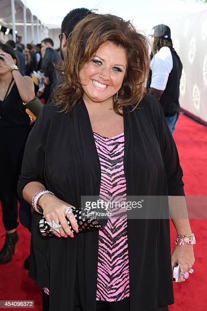 TV personality/Choreographer Abby Lee Miller attends the 2014 MTV Video Music Awards at The Forum on August 24 2014 in Inglewood California