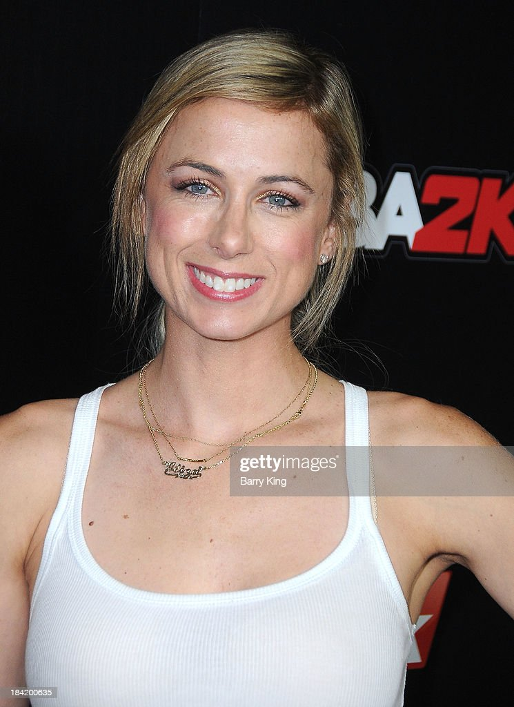 TV personality/comedian <a gi-track='captionPersonalityLinkClicked' href=/galleries/search?phrase=Iliza+Shlesinger&family=editorial&specificpeople=5630174 ng-click='$event.stopPropagation()'>Iliza Shlesinger</a> attends the NBA 2K14 premiere party on September 24, 2013 at Greystone Manor Supperclub in West Hollywood, California.