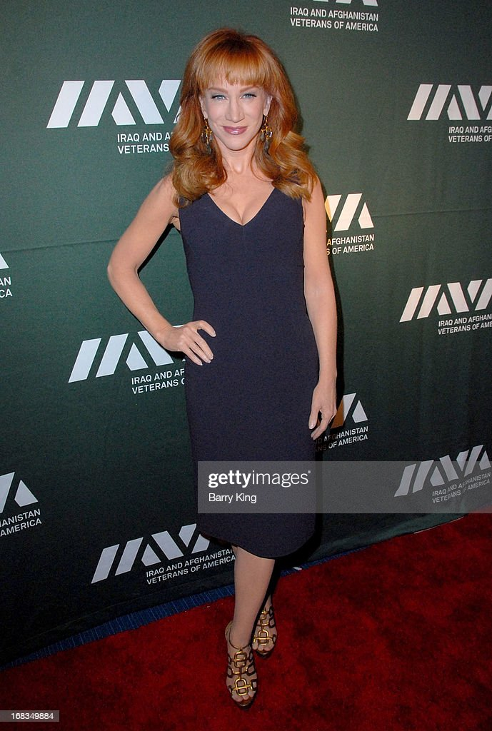 TV personality/comedienne Kathy Griffin attends the Iraq And Afghanistan Veterans Of America's 5th Annual Heroes Celebration on May 8, 2013 at the Mr. C Beverly Hills in Beverly Hills, California.